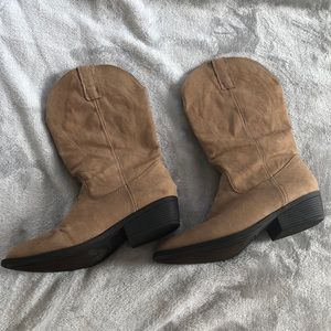 Rampage Cowboy/Cowgirl style boots